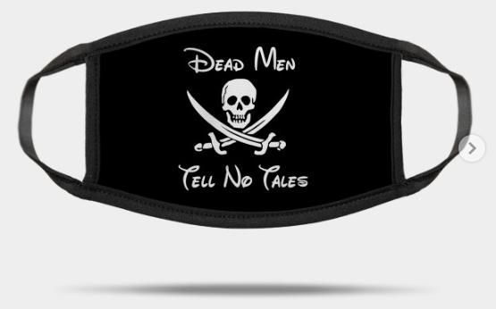 dead men tell no tales mask