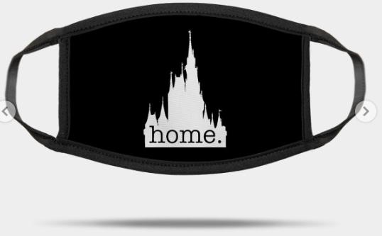 disney castle home mask