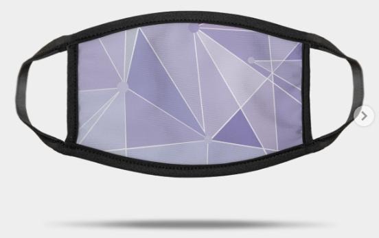 disney purple wall mask