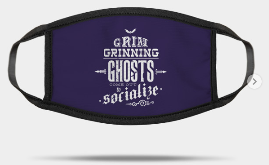 grim grinning ghost mask