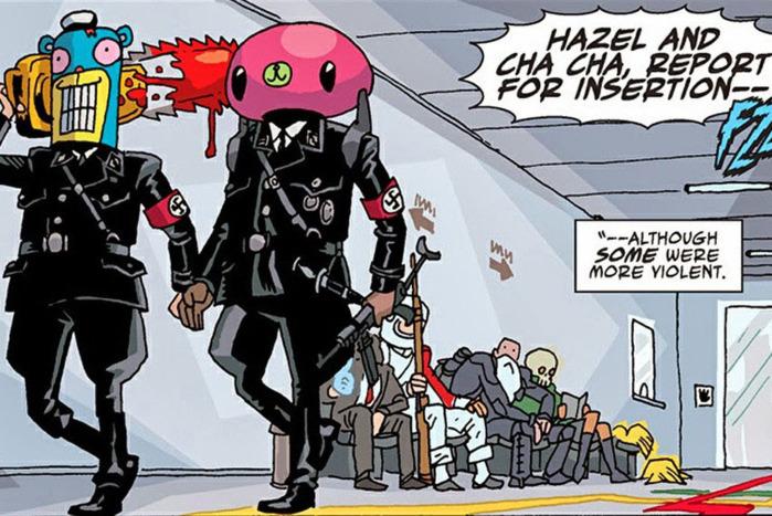 hazel and cha-cha umbrella academy comics