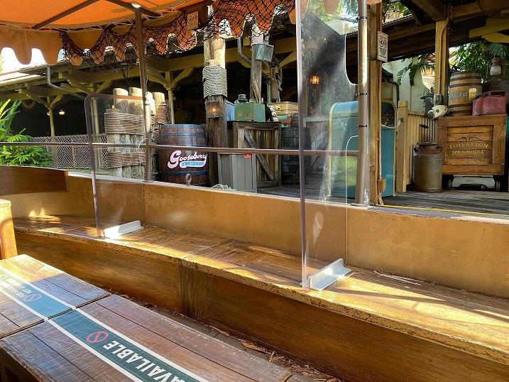 jungle cruise plexi glass