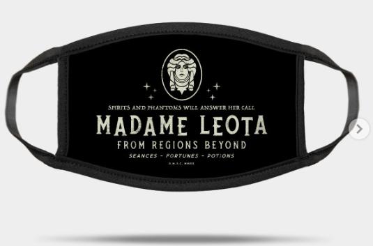 madame leota mask