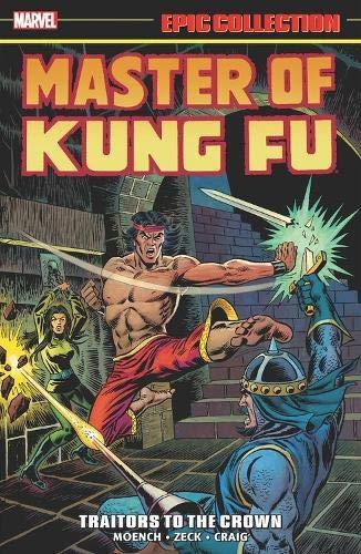 master of kung fu 3 comic