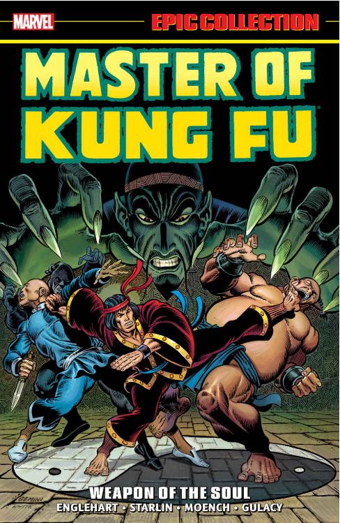master of kung fu comic