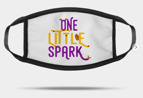 one little spark mask