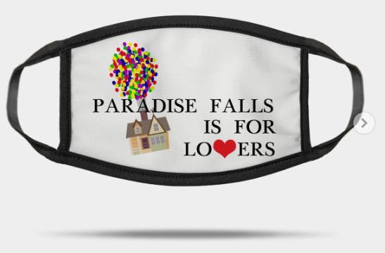 paradise falls mask