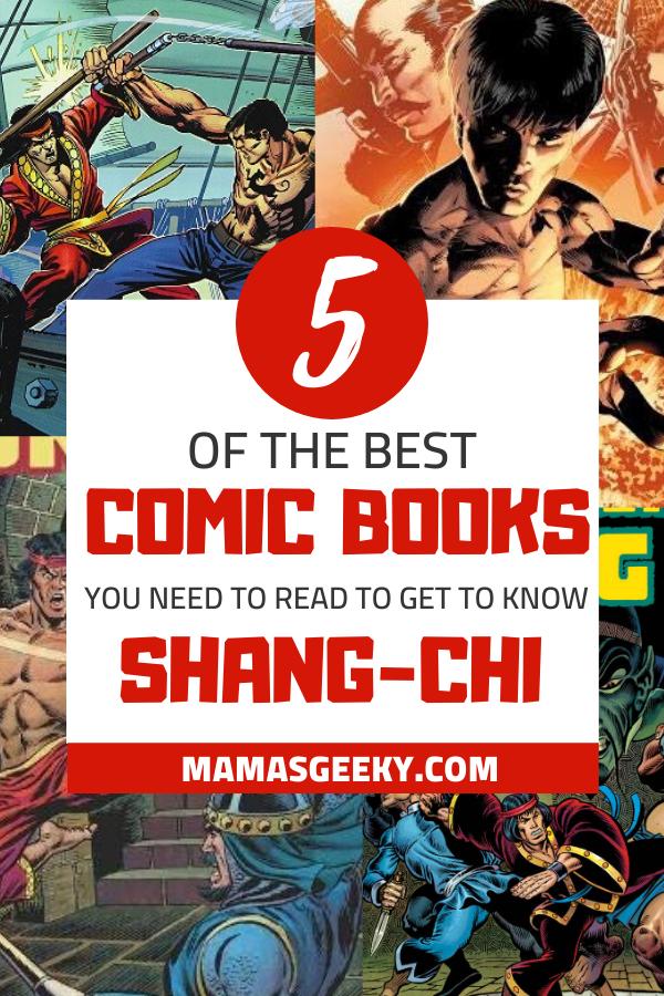 shang-chi comic books
