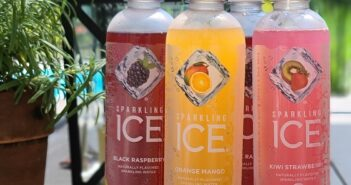sparkling ice by pool