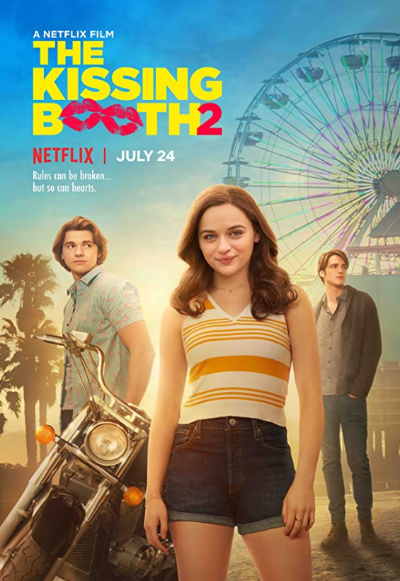 the kissing booth 2 netflix poster