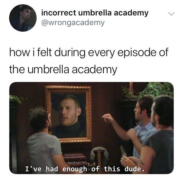 The Umbrella Academy meme