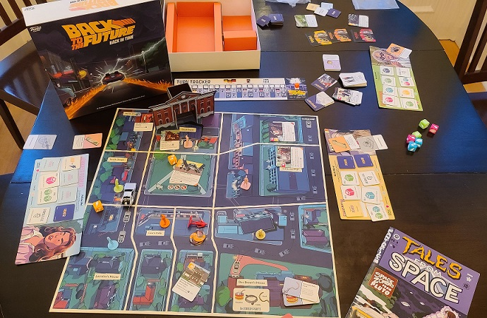 back to the future back in time game review