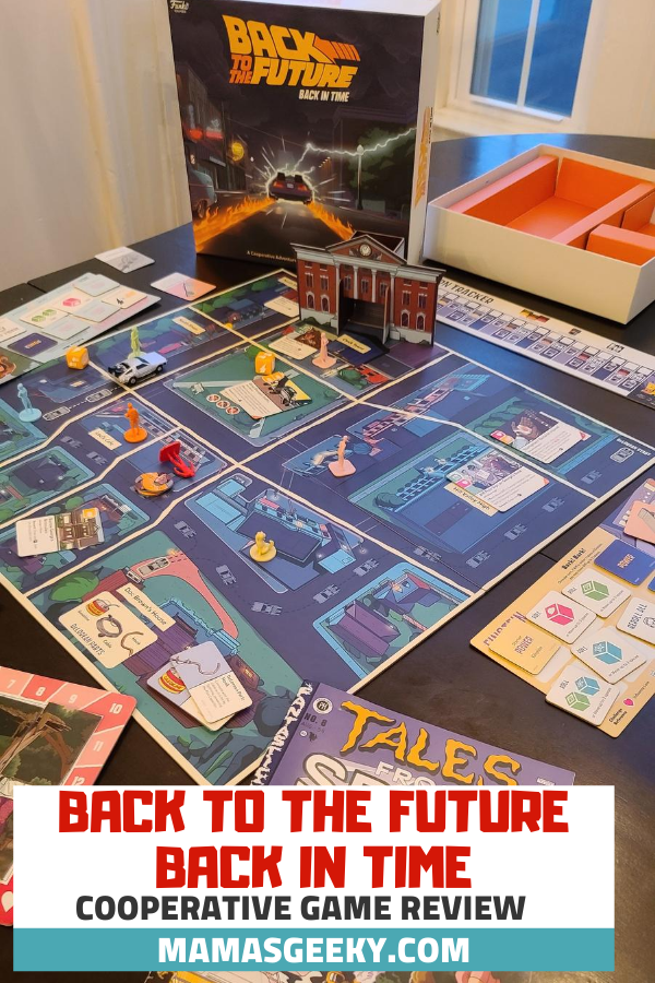 back to the future back in time game
