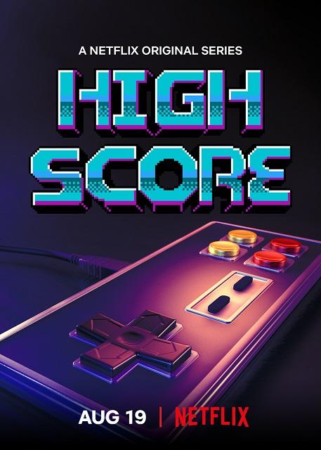 high score netflix poster