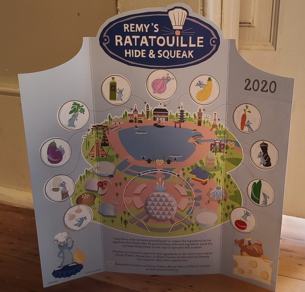 2020 food and wine remy hide and squeak epcot