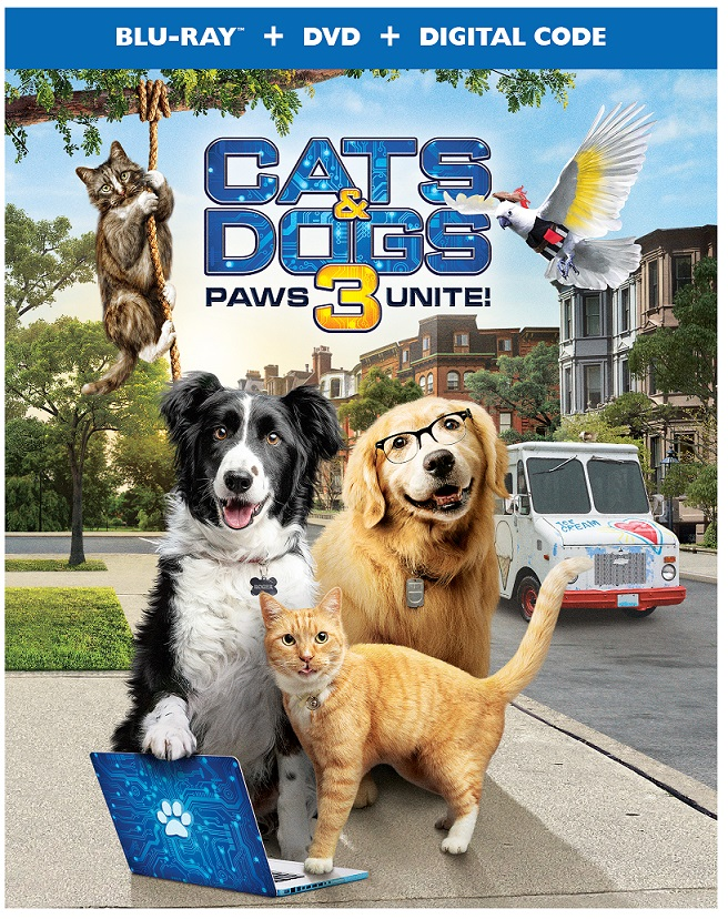 cats & dogs 3 paws unite
