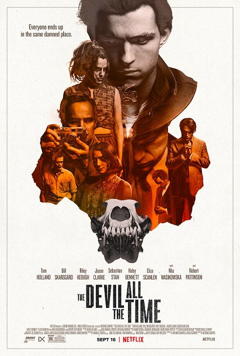 devil all the time movie poster