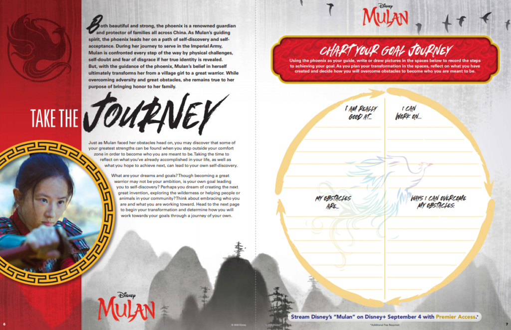 mulan printable activity packet
