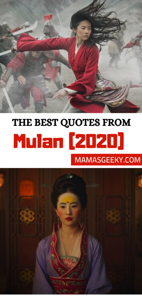The Best Quotes From Disney S Live Action Mulan 2020 Movie