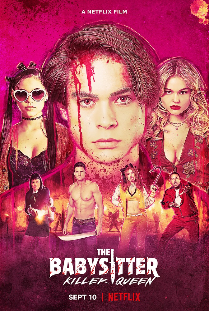 the babysitter killer queen movie poster