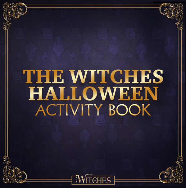 the witches activity pack coloring pages