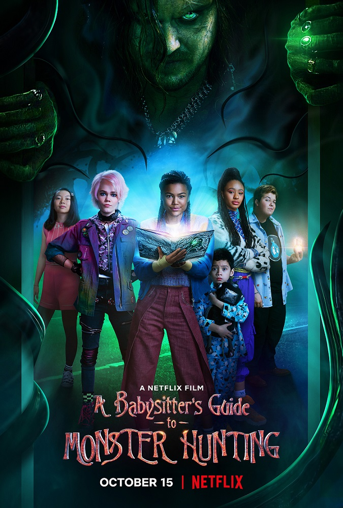a babysitters guide to monster hunting movie poster