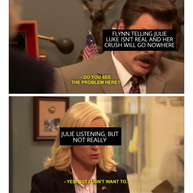 julie and the phantoms meme