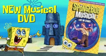 spongebob the musical dvd