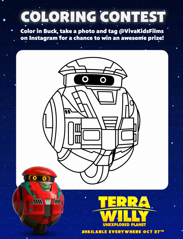 terra willy coloring page