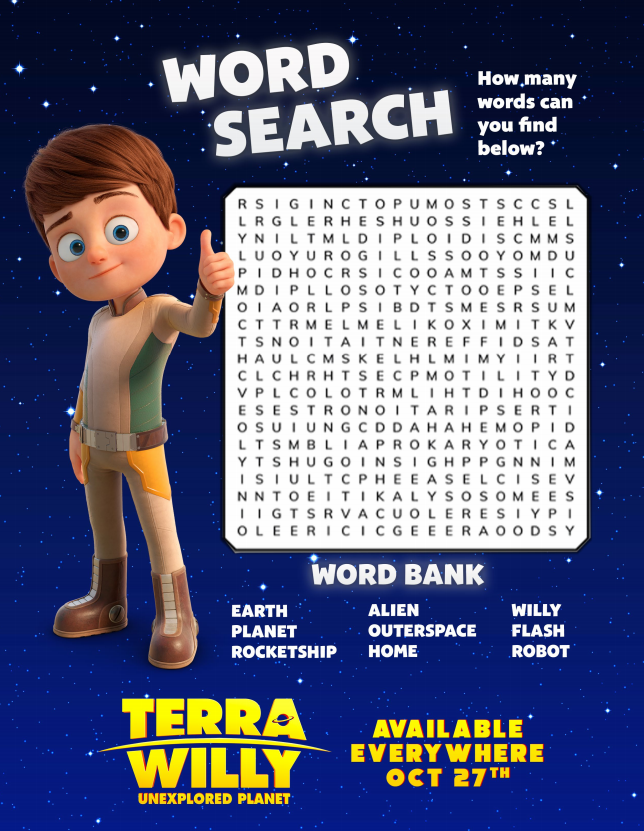 terra willy word search