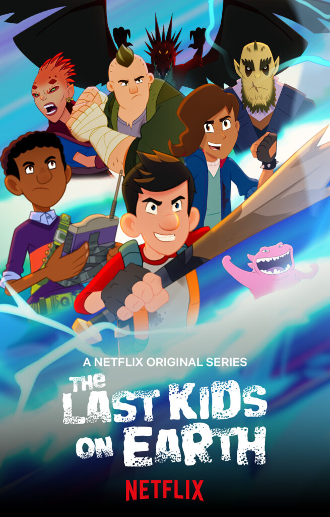 the last kids on earth netflix poster