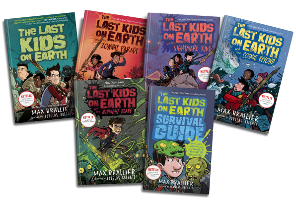 the last kids on earth books