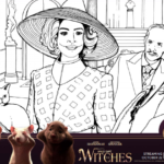The Witches Inspired Printable Halloween Activity Pack & Coloring Pages