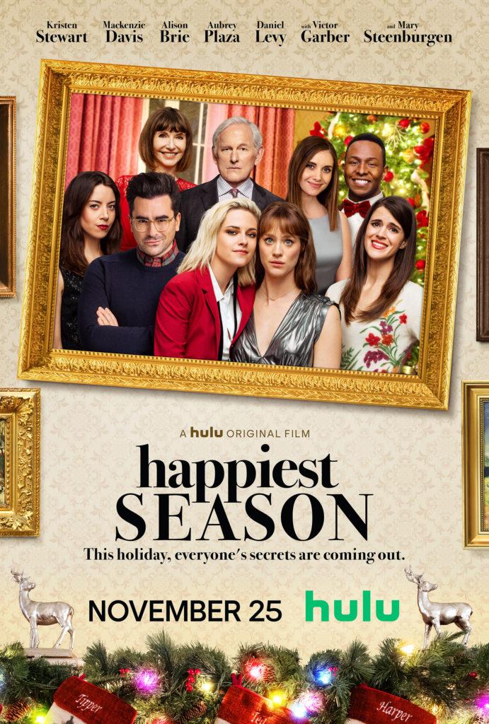 happiest season poster hulu