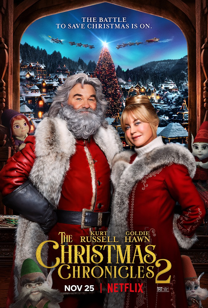 the christmas chronicles part 2 poster