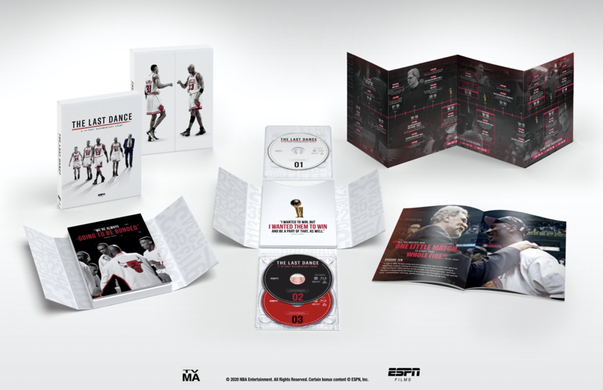 ESPN's The Last Dance Blu-ray™ Gift Set
