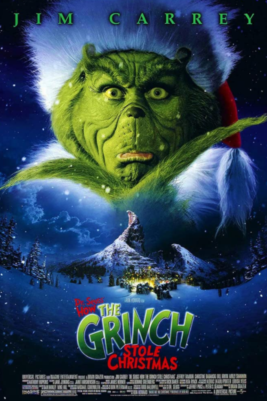 the grinch jim carrey poster