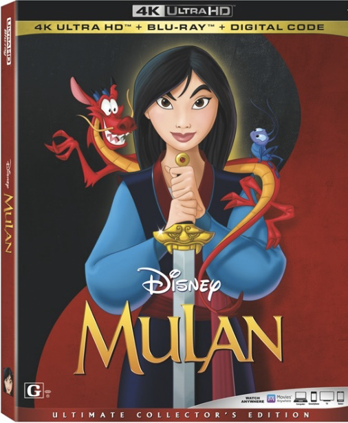 mulan animated