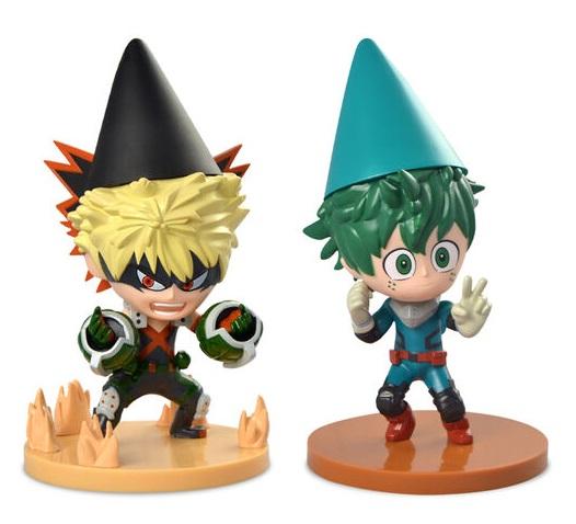 My Hero Academia Two Pack Garden Gnomes