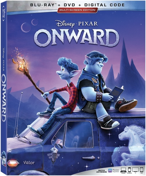 onward blu-ray