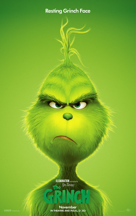 2018 the grinch poster