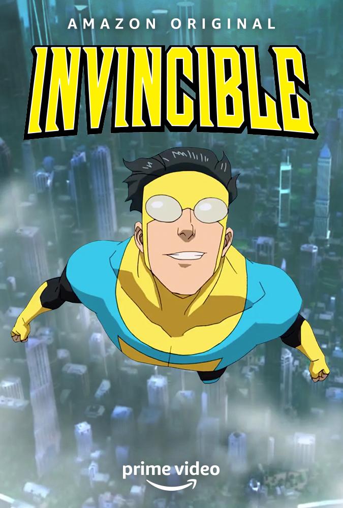 amazon prime video invincible poster