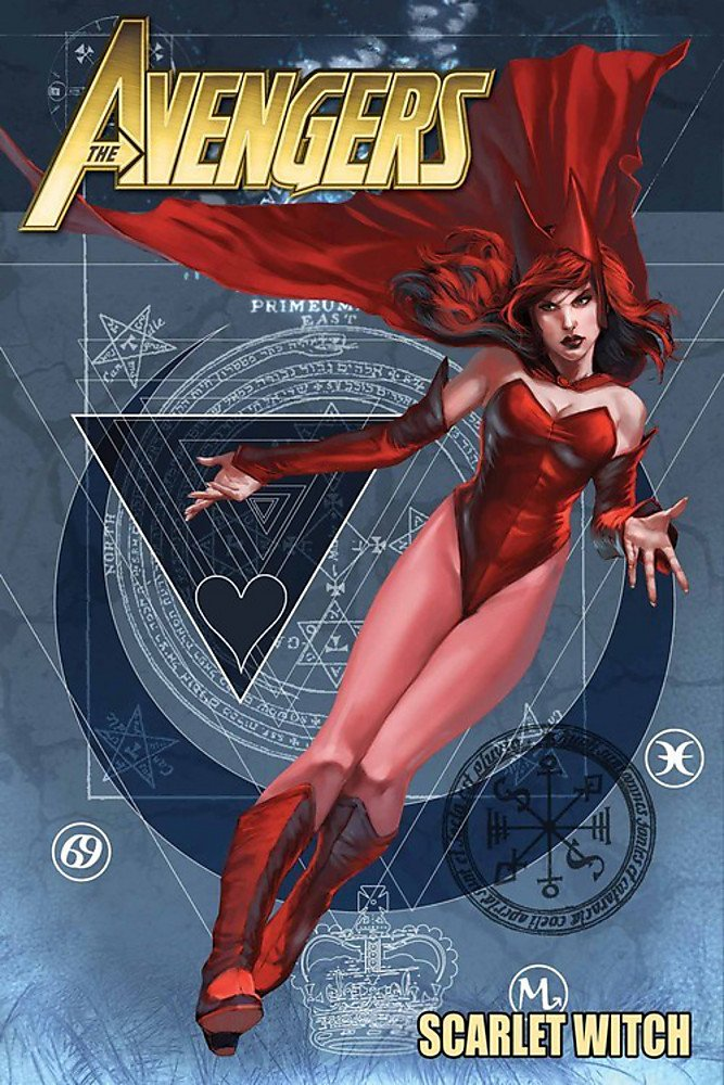 avengers scarlet witch comic