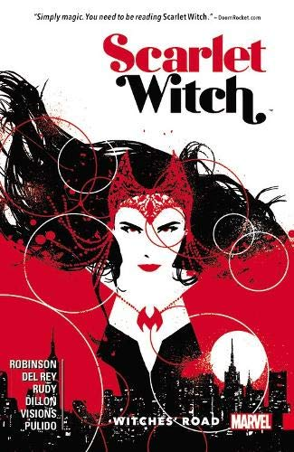 scarlet witch comic book