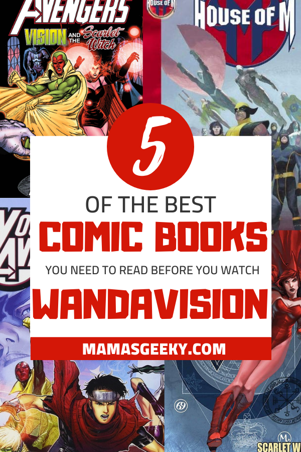 comic books to read before watching wandavision