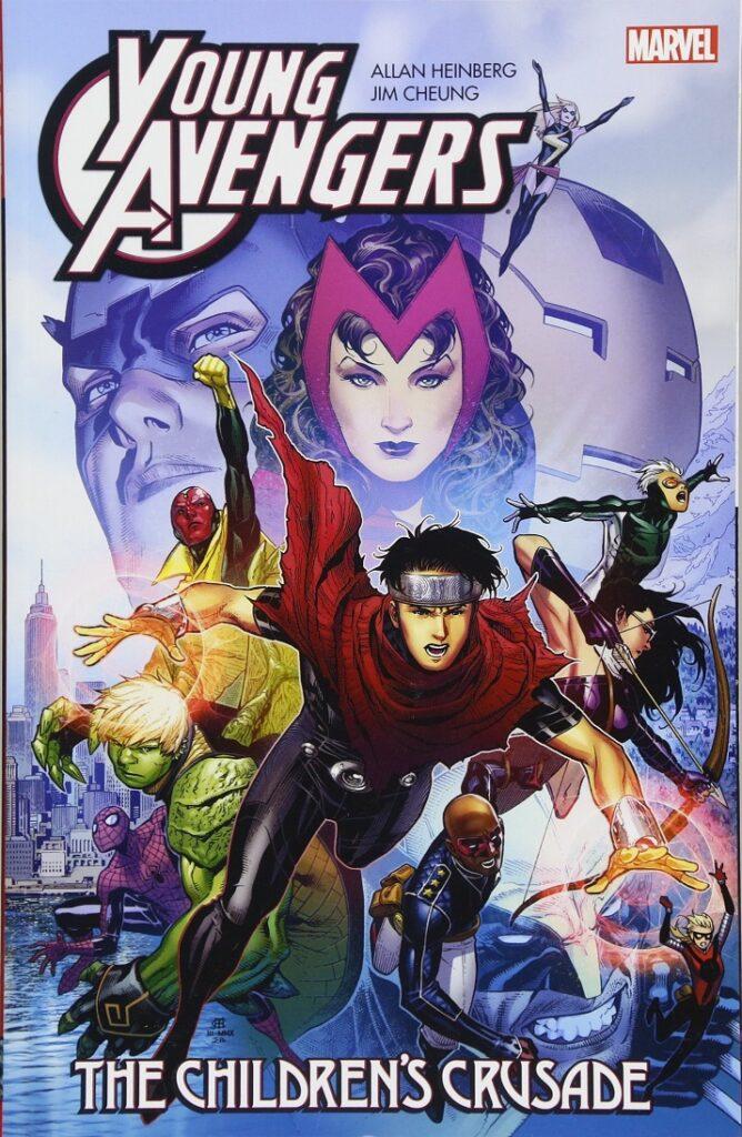 young avengers comic
