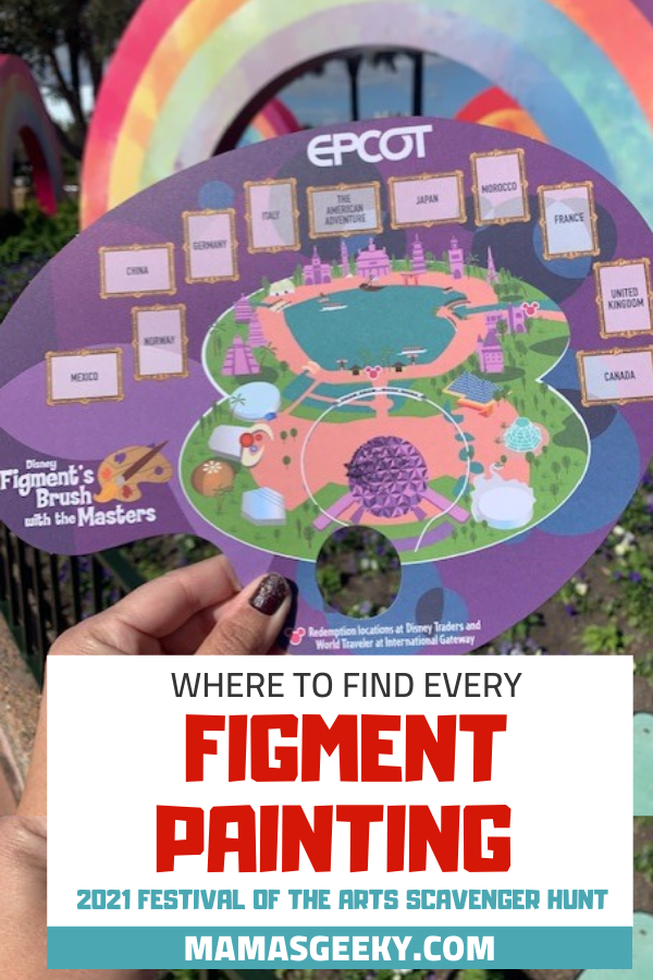 Festival of the Arts Figment painting locations