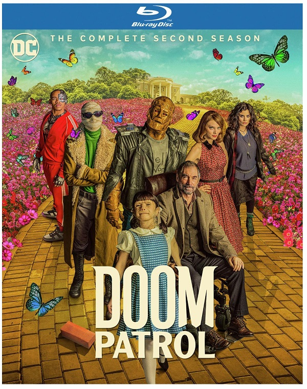 doom patrol s2 blu-ray