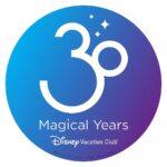 Disney Vacation Club 30th Anniversary Celebration Surprises
