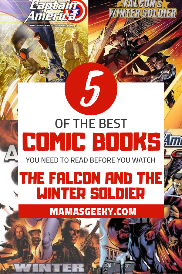 comic books to read before the falcon and the winter soldier